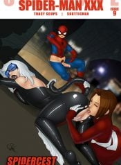 Ultimate Spider-Man XXX 9 – Spidercest – a cat that got your tongue
