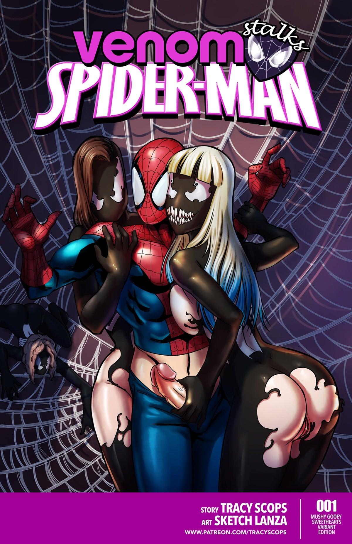 Venom Stalks Spider-Man