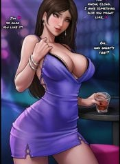 Tifa is clubbing!
