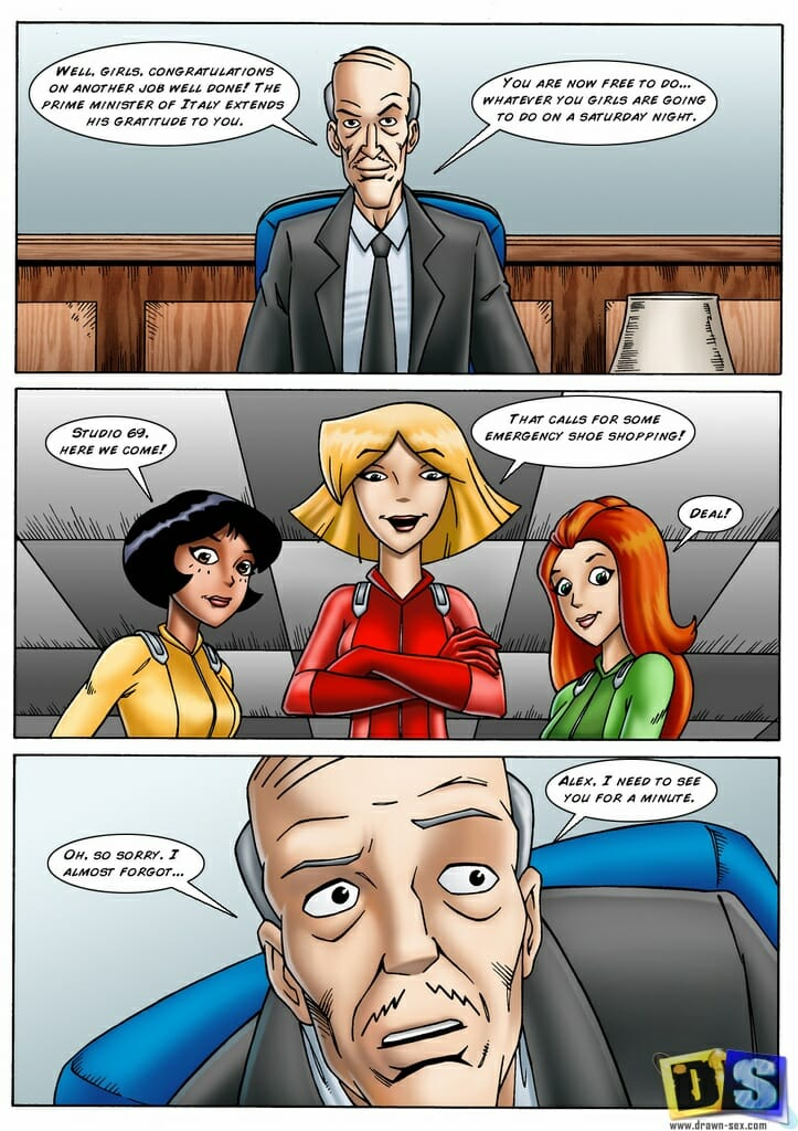 Totally Spies Alex Physical Exam