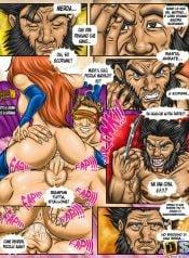 X-Men Wolverine x Rogue