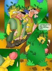 Flintstones & The Simpsons