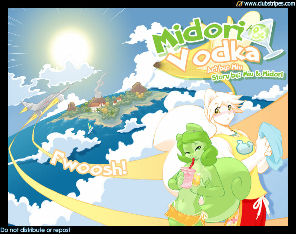 Midori and Vodka