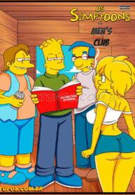The Simptoons 20 – Men's Club