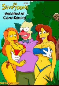 The Simptoons 24 – Vacation at Camp Krusty