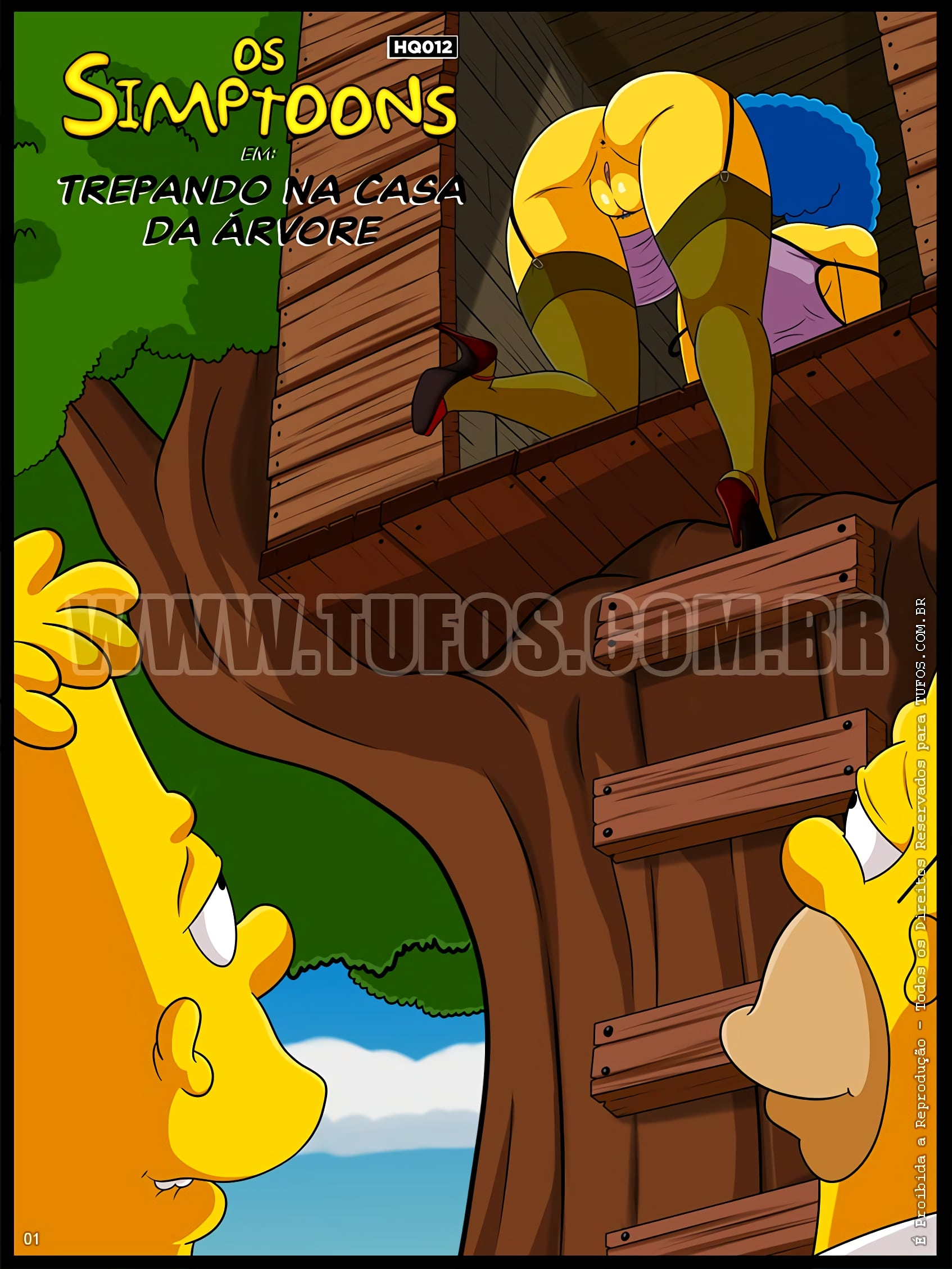 The Simptoons 12 – Fucking in the Treehouse